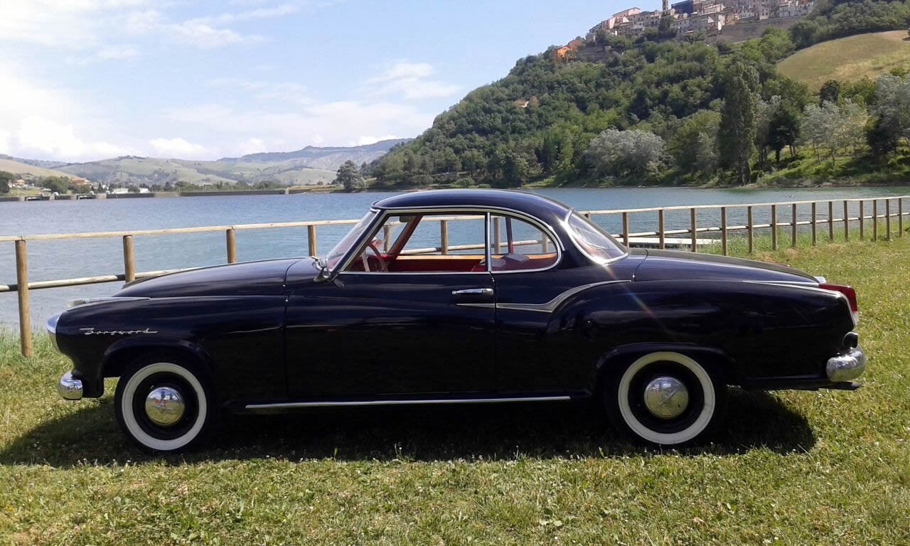 Borgward Isabella Coupe - Vado in Classica