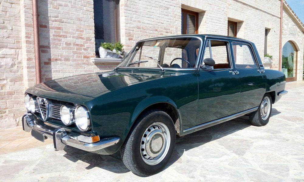 alfa romeo 1750 auto epoca