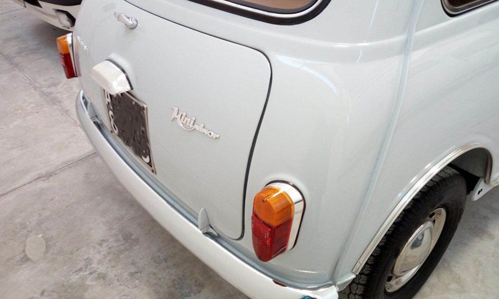 mini 850 prima serie auto epoca vado in classica